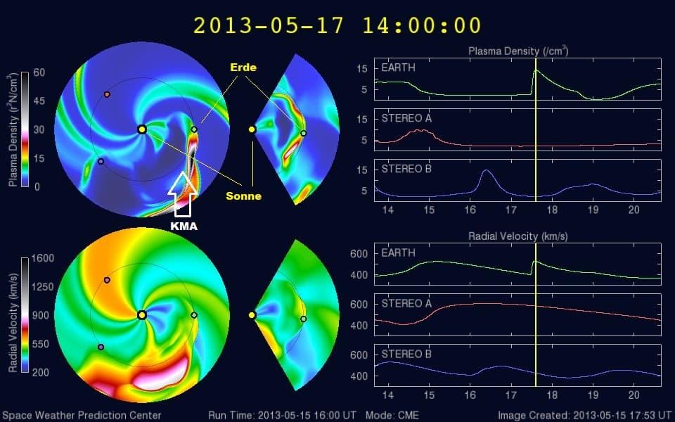 X-Flare vom 15. Mai streift am Freitag die Erde 1
