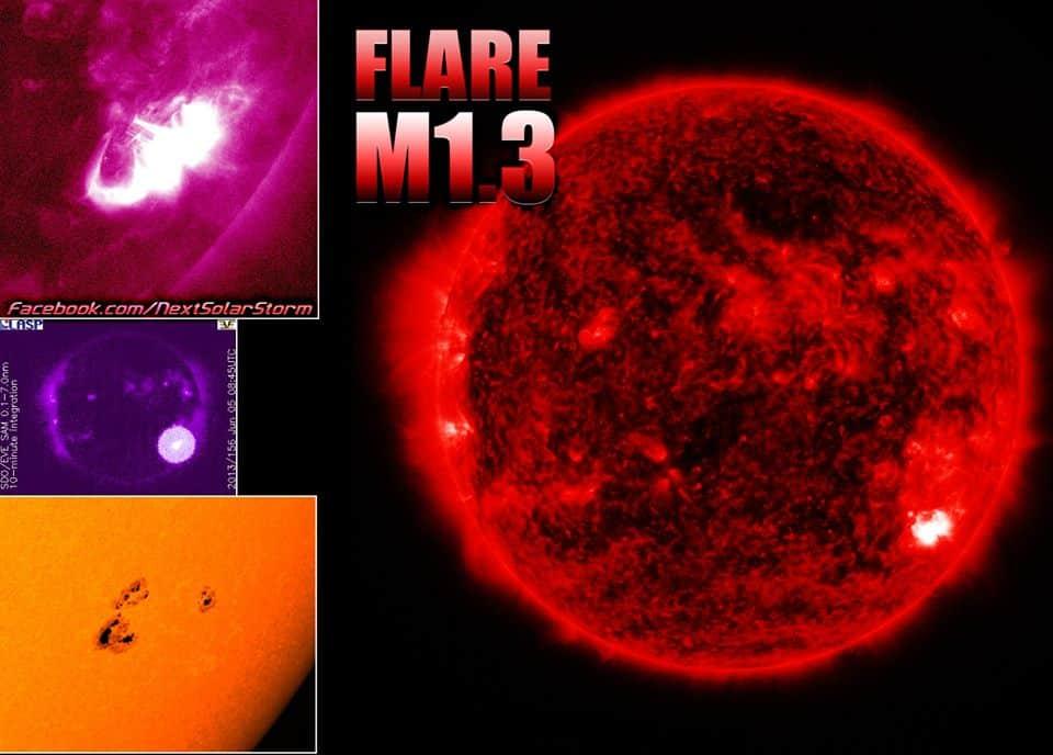 Weltraumwetterbericht vom 06. Juni 2013 1