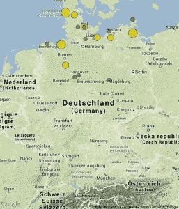 Polarlichter in Deutschland