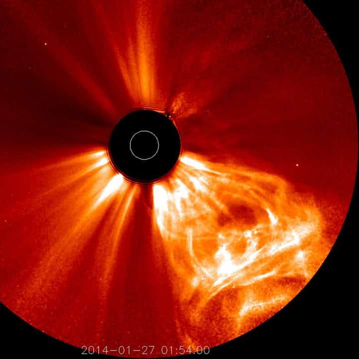 Video der Stereo-Sonde zeigt Sonnenstürme und Kometen 1