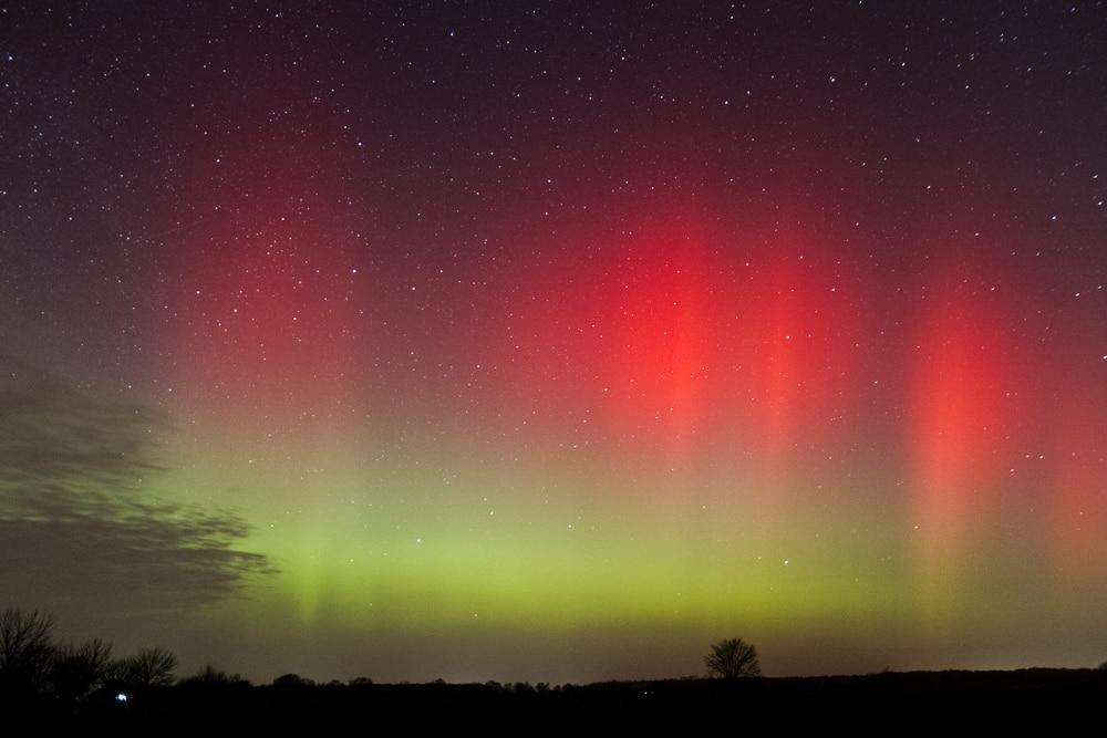 Sonnensturm sorgt für Polarlichter über Nord- und Mitteldeutschland 1