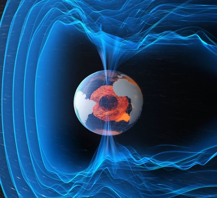 Erdmagnetfeld und Sonnenaktivität