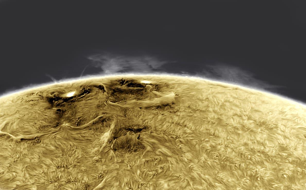 Beeindruckende Teleskopaufnahmen großer Sonnenflecken 1