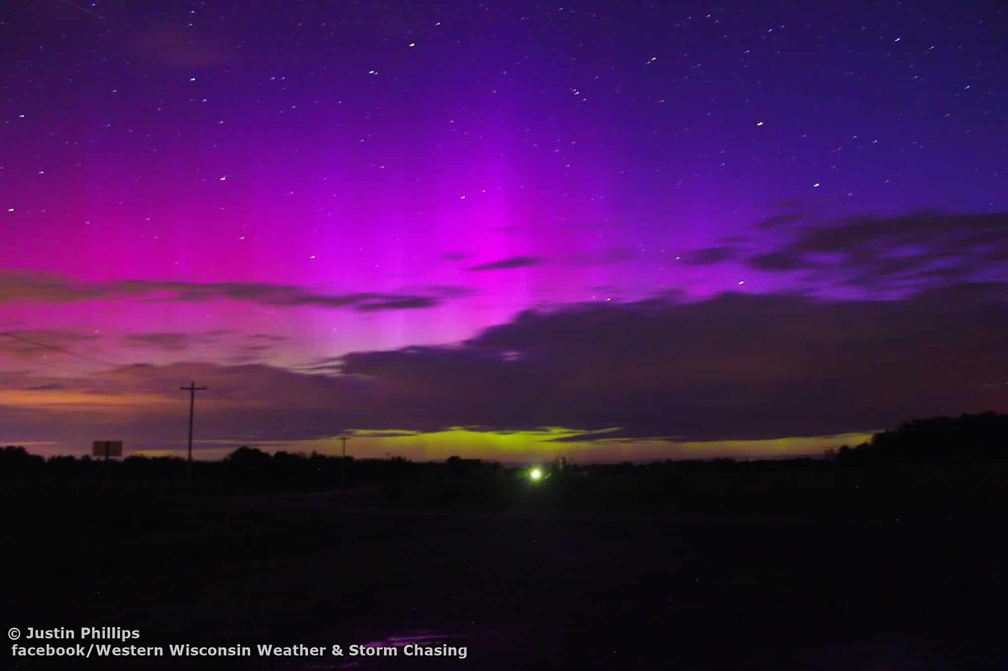 Polarlichter : Erdmagnetfeld auch in den nächsten Tagen unter beschuss 1