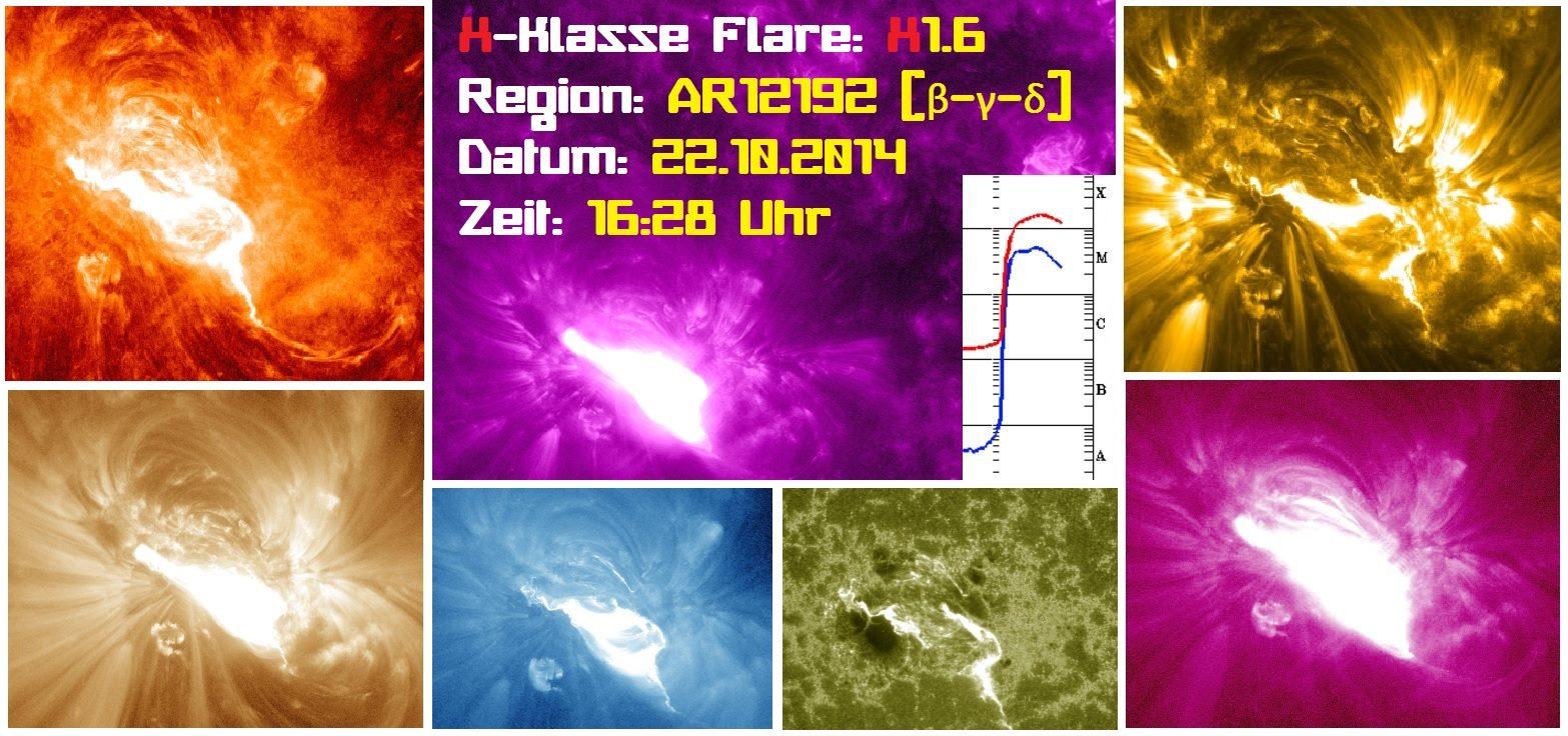 X-Klasse Sonneneruption ! 1