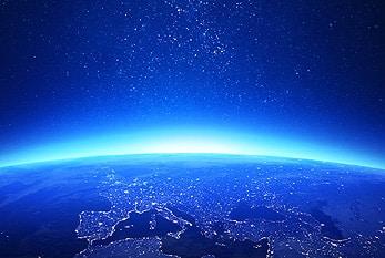 Die Erde bei Nacht Urheber: Earth Hour