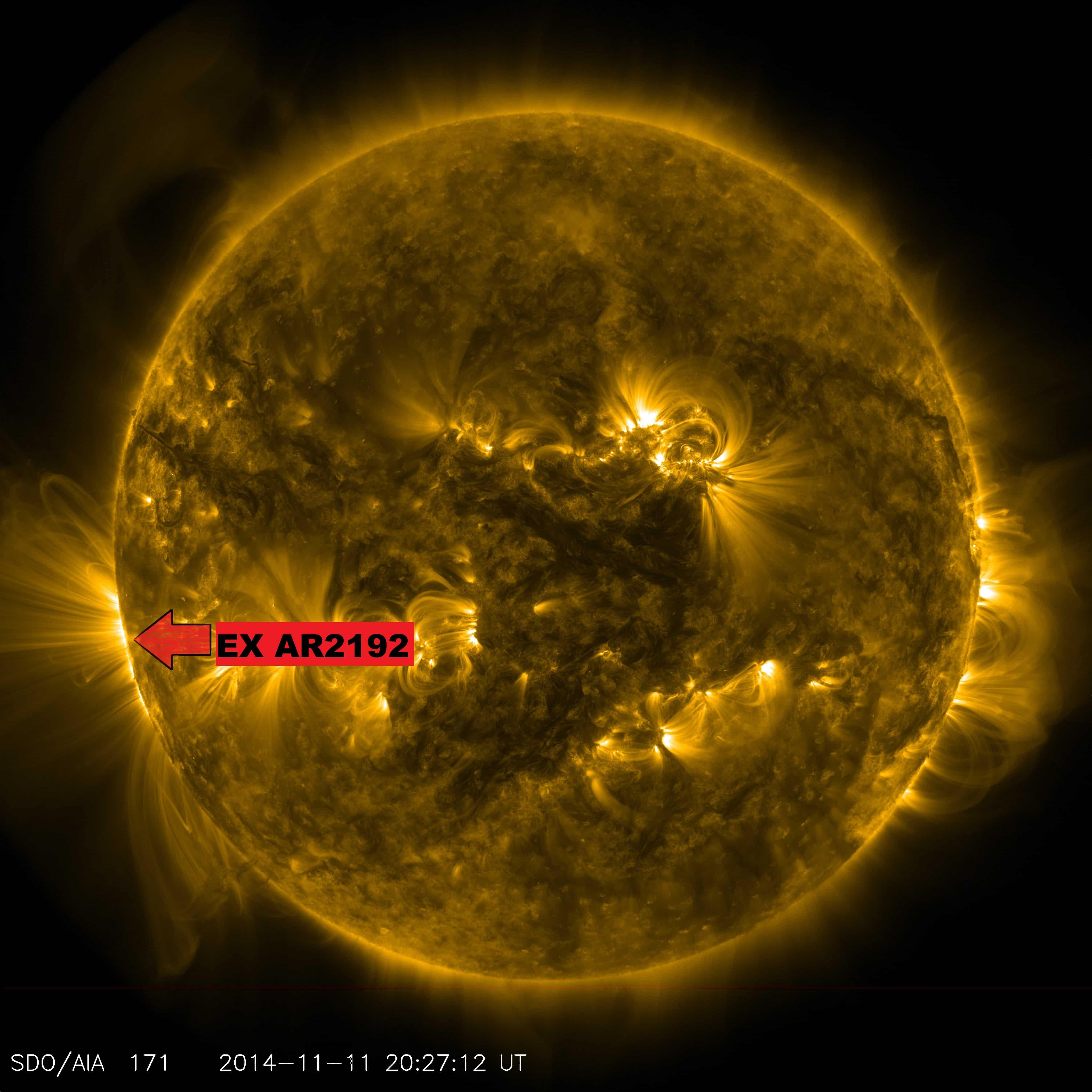 Größter Sonnenfleck seit 20 Jahren kurz vor seiner Rückkehr 2