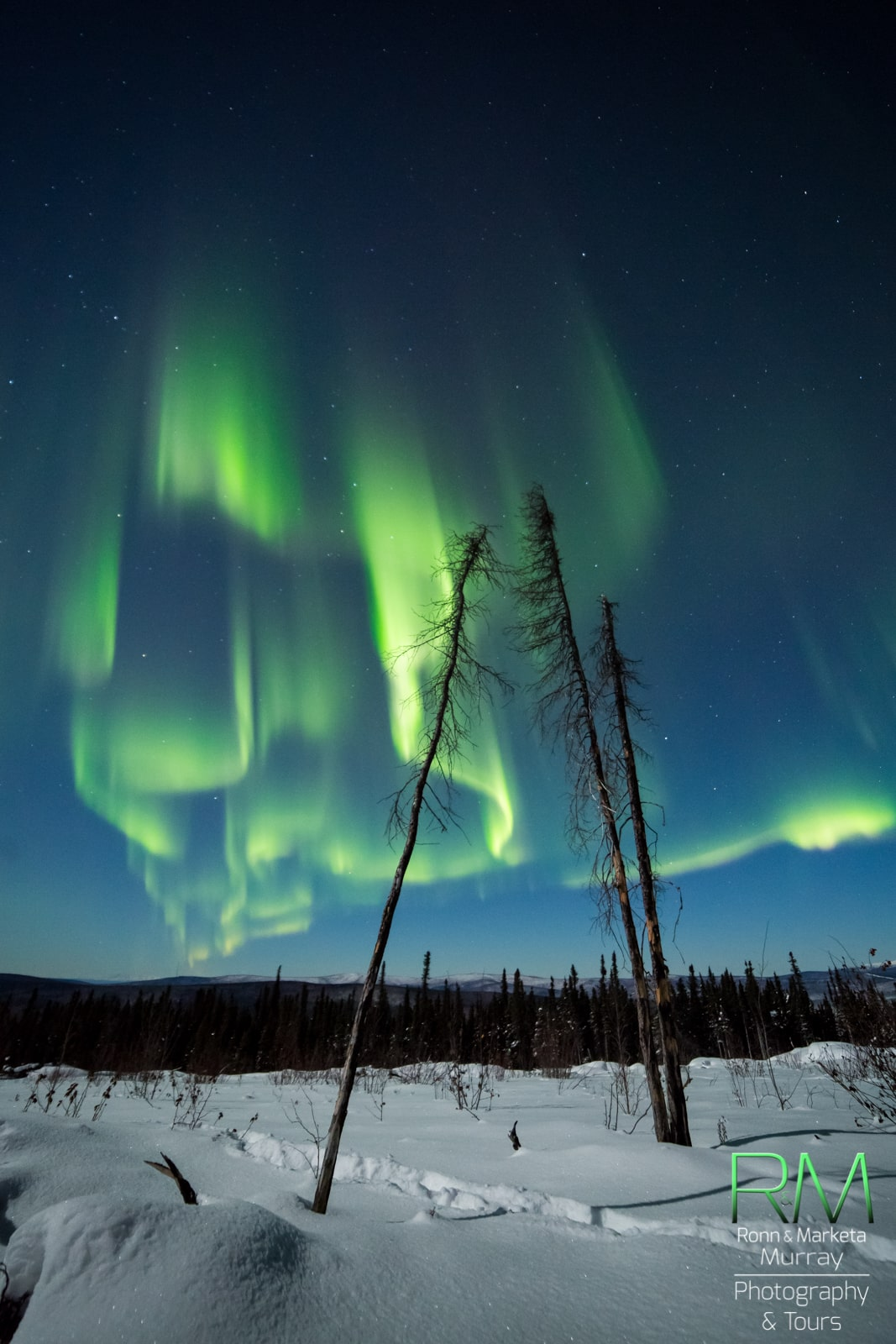 Taken by Marketa S Murray on January 2, 2015 @ Fairbanks, Alaska. Found on http://spaceweathergallery.com/
