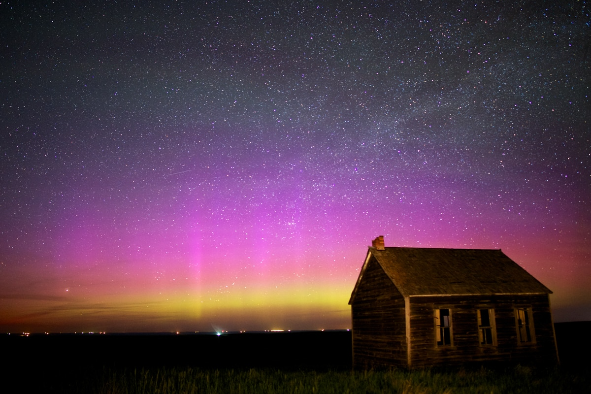 Auroras Taken by Christian Begeman on June 7, 2015 @ Isabel, SD (area)