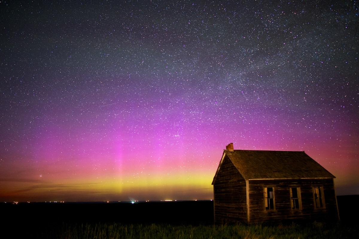 Auroras Taken by Christian Begeman on June 7, 2015 @ Isabel, SD (area)