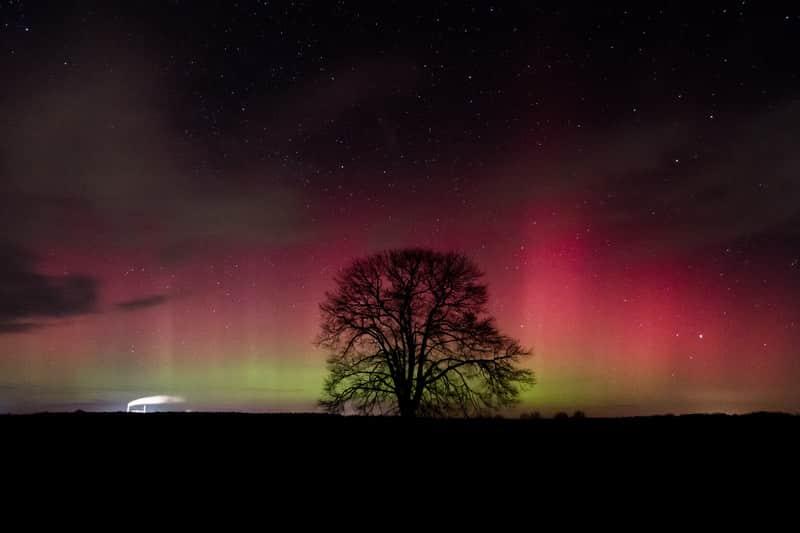 Nordlicht in Deutschland