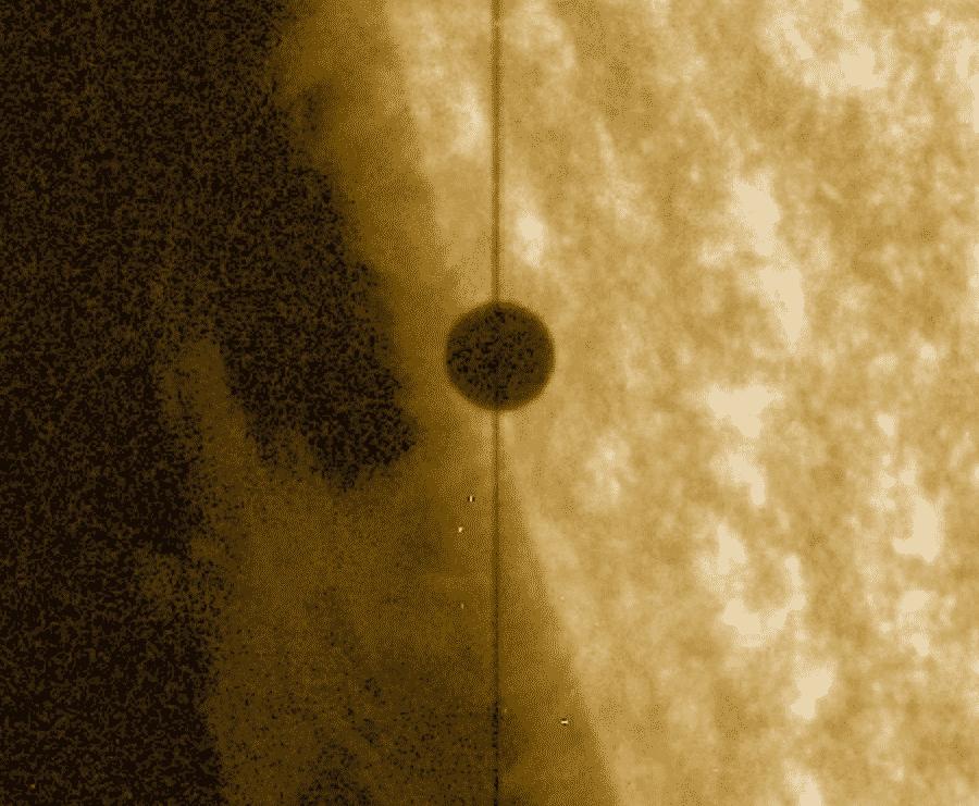 IRIS präsentiert neue Aufnahmen von Merkur Transit 1