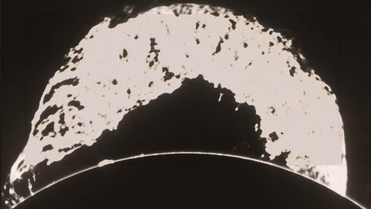 Die größte beobachtete eruptive Protuberanz am 4. Juni 1946