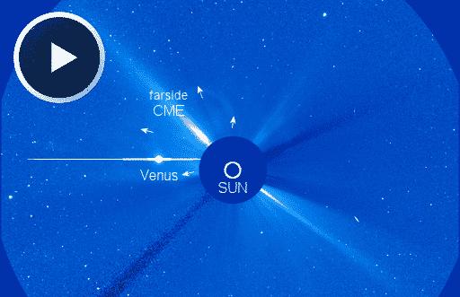 Aktivitäten auf der Rückseite der Sonne 1