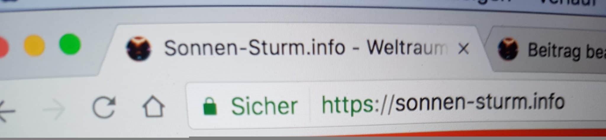 HTTPS Umstellung