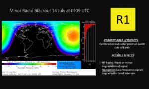 *Update* Starke Sonneneruption rast (teilweise) auf die Erde zu 2