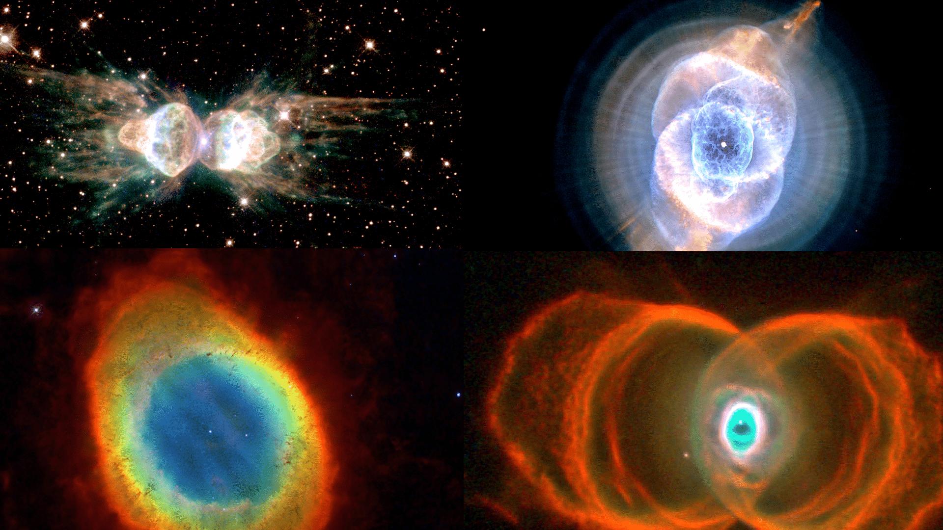 Die schönsten Planetarischen Nebel 1