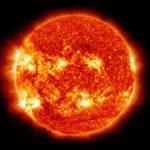 Die Sonne, der Mittelpumkt des Sonnensystems