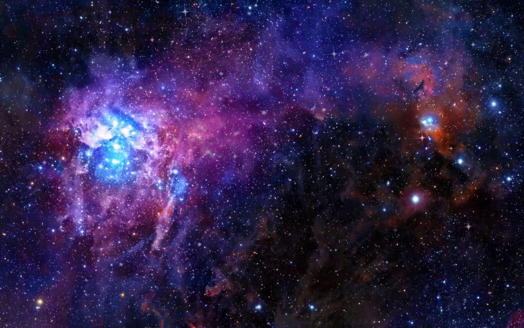 Darstellung: Sonnensystem als planetarischer Nebel
