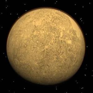 Planet Merkur Aussehen