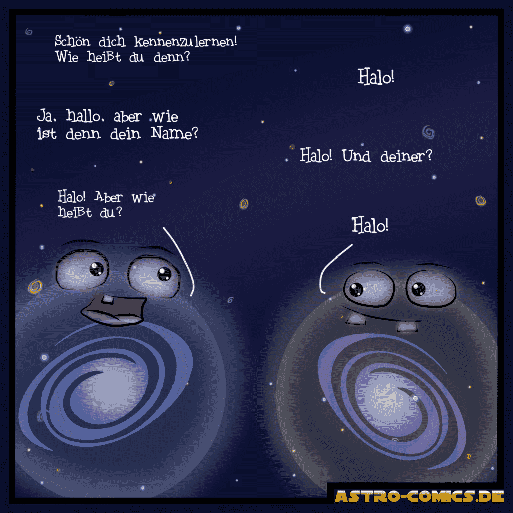 Blick ins Buch: Astro-Comics erklärt die Milchstraße - Sonnen-Sturm.Info