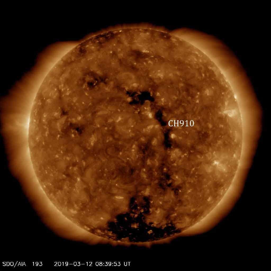 Credit Image: SDO/ AIA 193/NASA