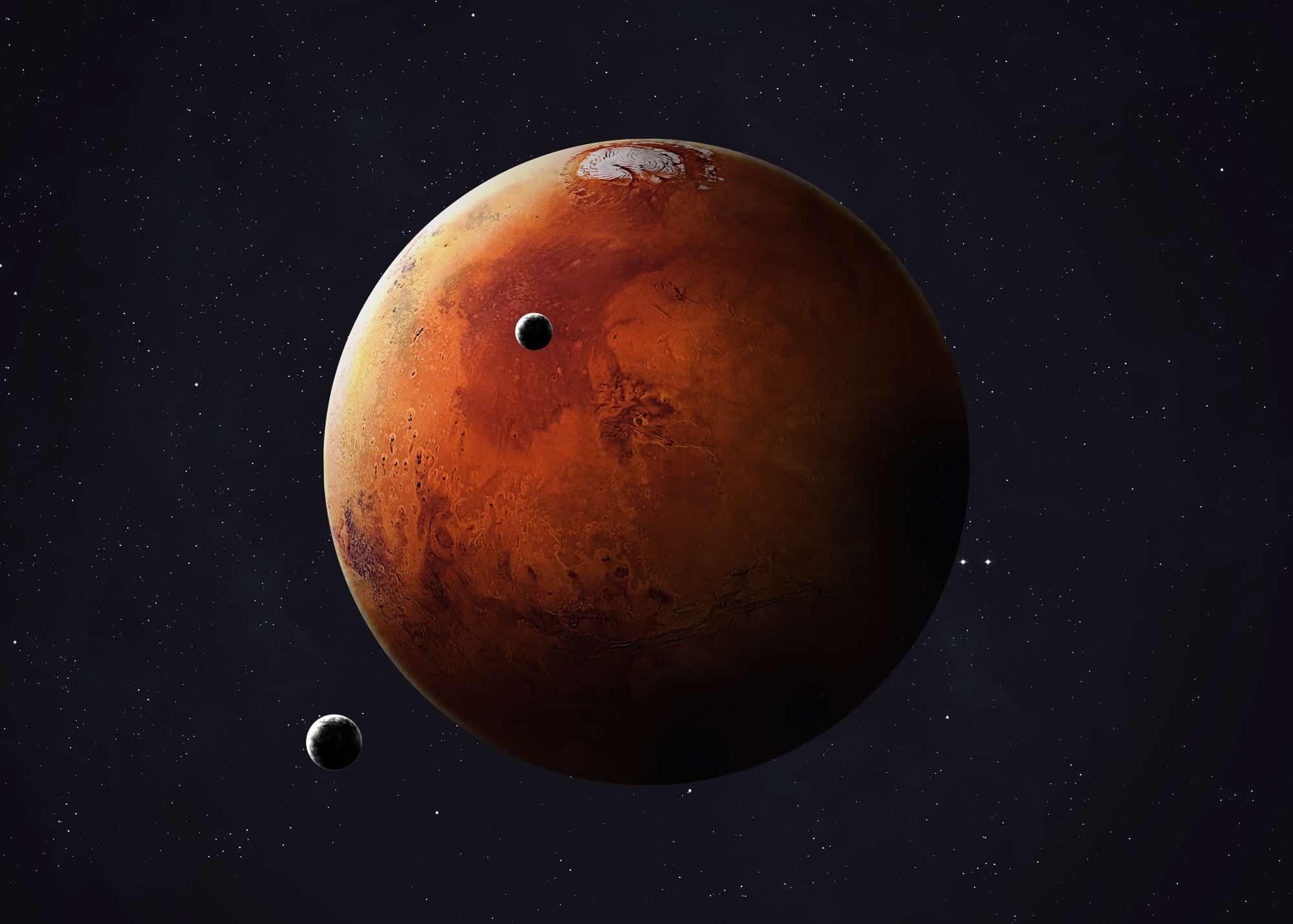 Mars Darstellung