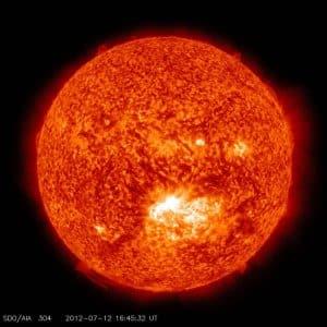 Die HI-Linie (H-Eins-Linie), auch Wasserstofflinie, ist in der Astronomie die Bezeichnung für die charakteristische Radiostrahlung des neutralen Wasserstoffs.