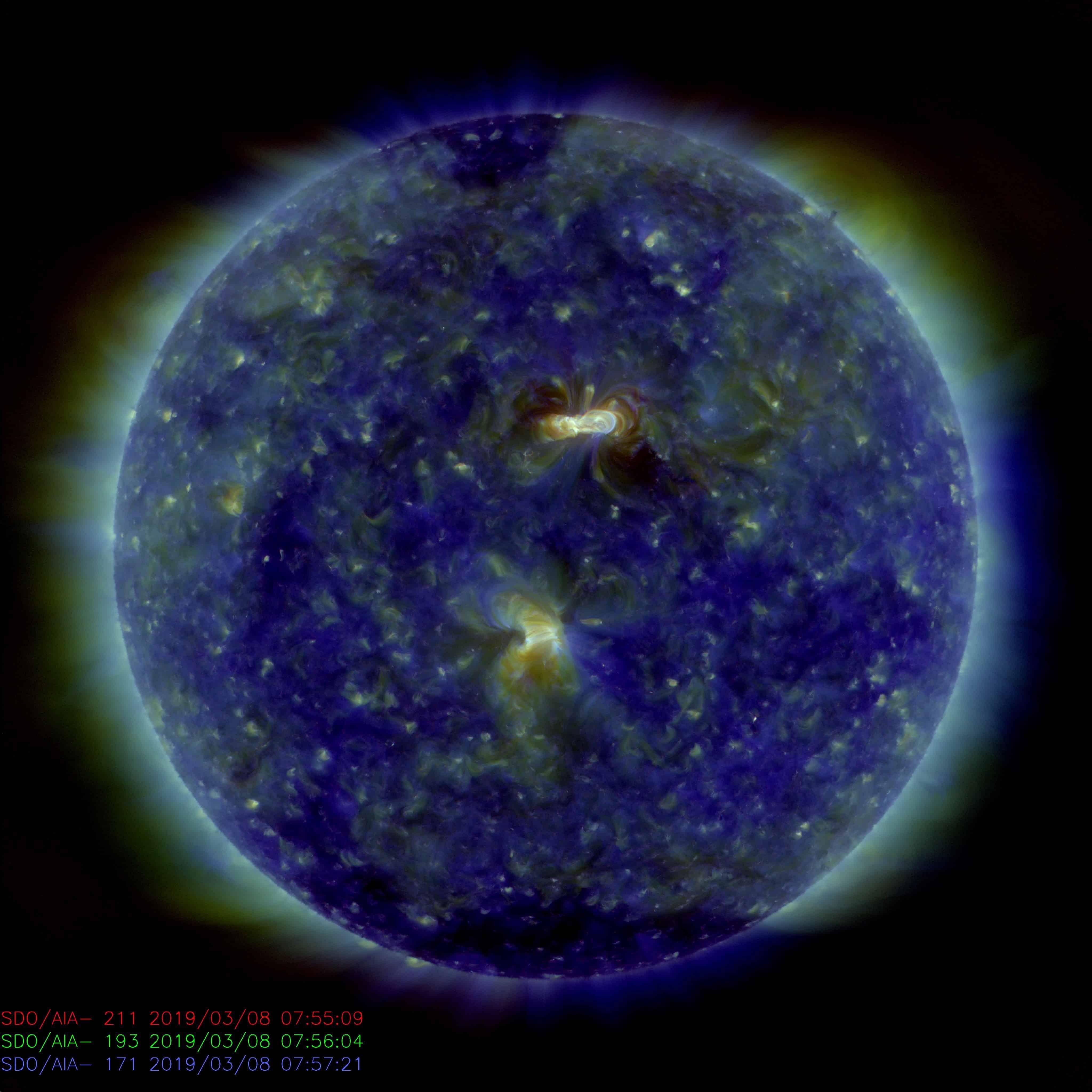 Kleine Sonneneruption in der Nacht auf Freitag registriert 1