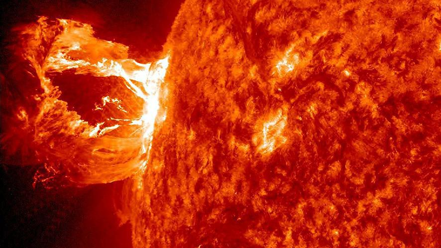 Sonnensturm vorhersage