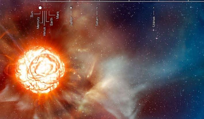 Doch keine Supernova? Beteigeuze wird wieder heller! 8