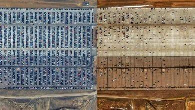 Satellitenbilder: So verändert die Corona-Pandemie die Erde 3