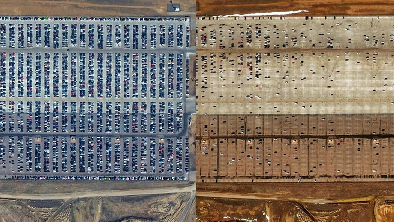 Satellitenbilder: So verändert die Corona-Pandemie die Erde 1
