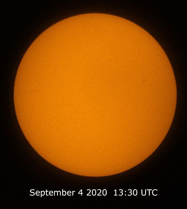 Warten auf die Rückkehr der Sonnenflecken 1