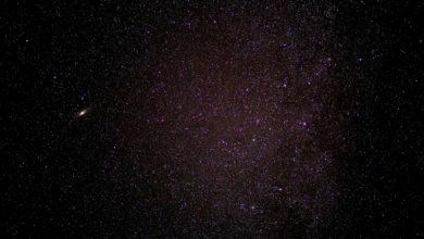 Bekannte astronomische Sternbilder im Wandel der Zeit 2