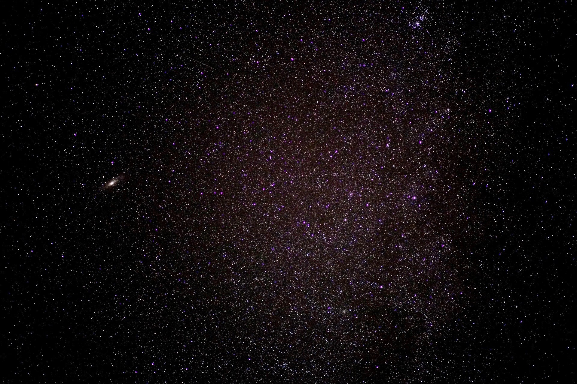 Bekannte astronomische Sternbilder im Wandel der Zeit 1