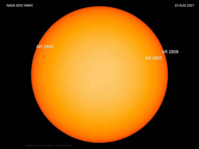 Erhöhte Sonnensturm und Polarlicht Wahrscheinlichkeit 1