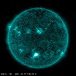 C-Flare Sonneneruption